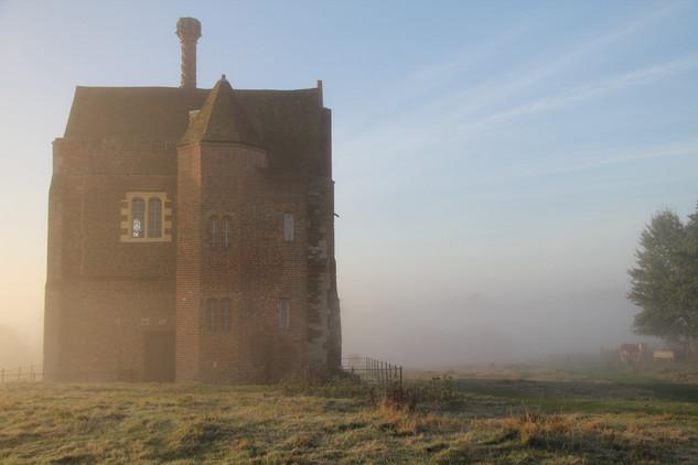 Warden Abbey At Dawn