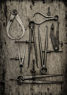 Old Engineering Instruments