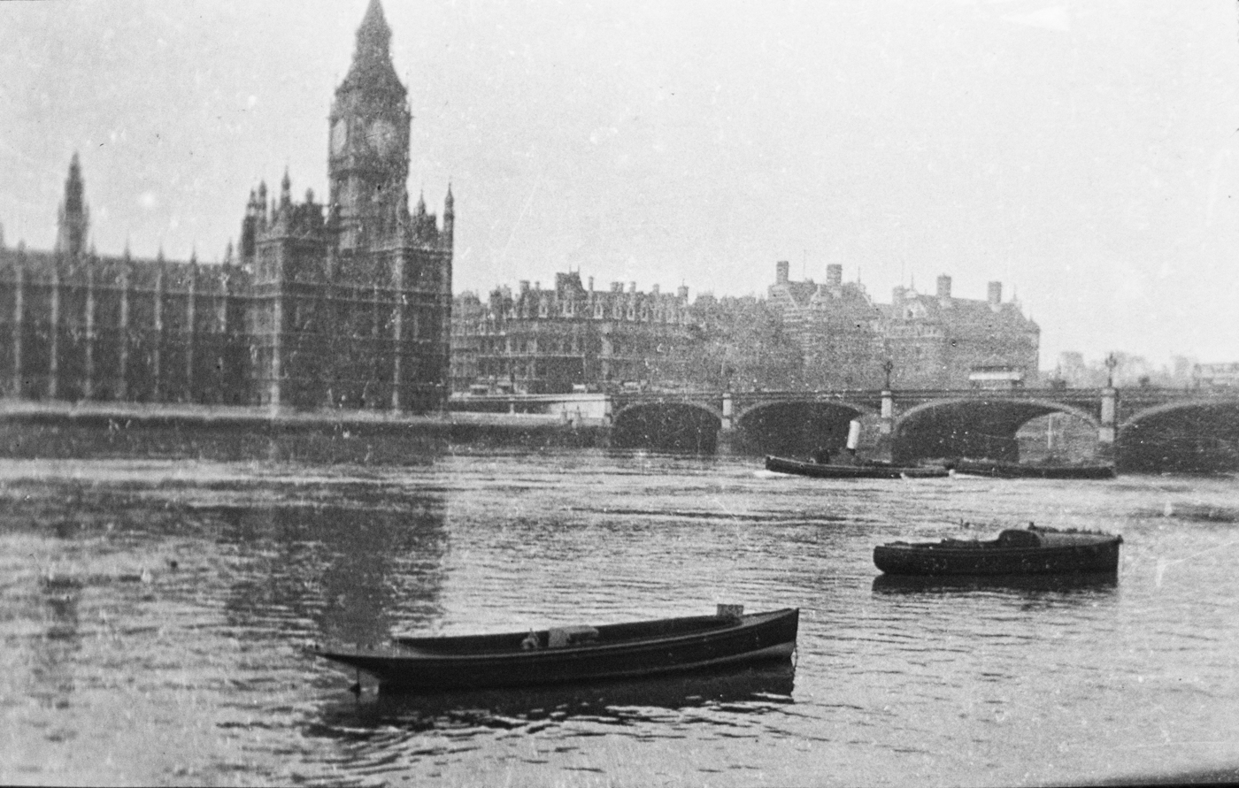 170_Big Ben & Westminster Bridge 1923