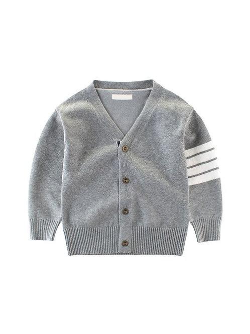 Cool Grey Cardigan