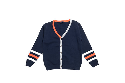 Casual Day Cardigan Blue