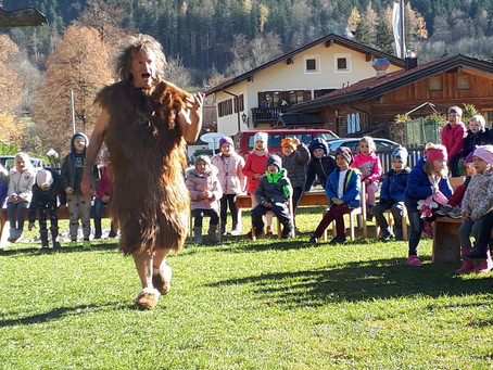 Der kleine Troll Wurliz im Kindergarten Kreuth