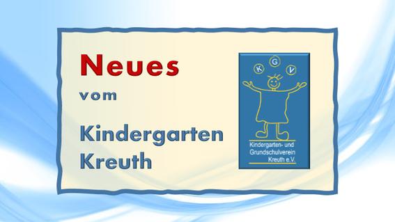 Neue Kindergarten-Termine