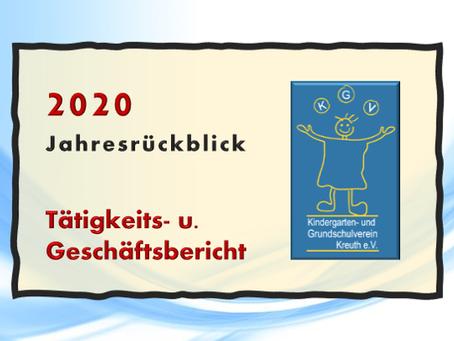 Jahresbericht 2020