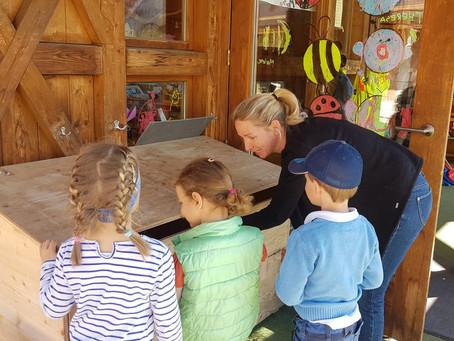 Große Oster-Suchaktion im Kreuther Kindergarten