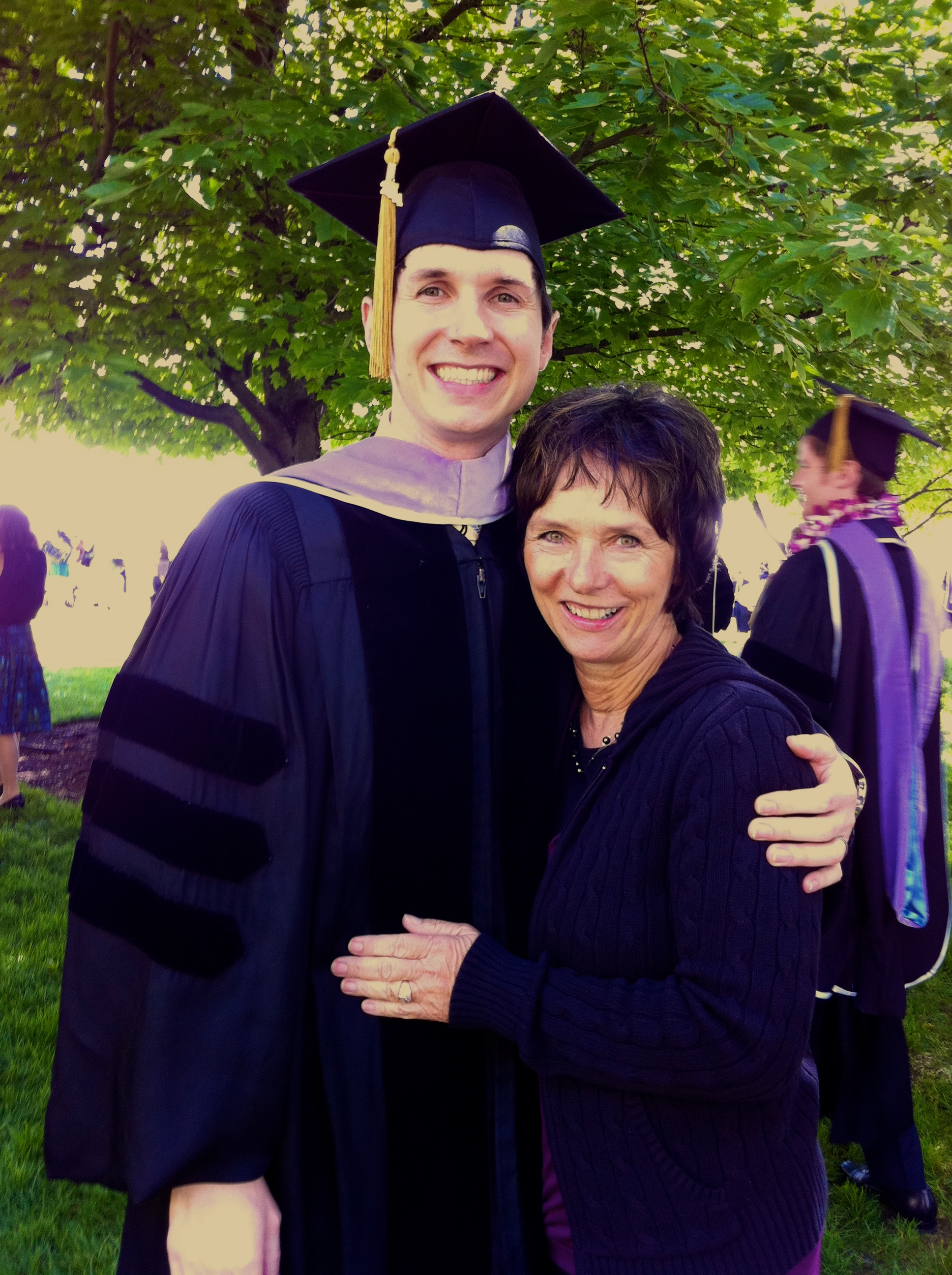Graduation with Mom