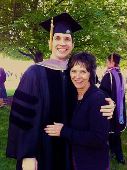 Graduation with Mom