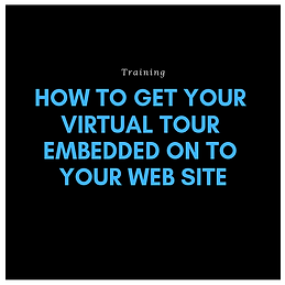 How to get your virtual tour embedded on
