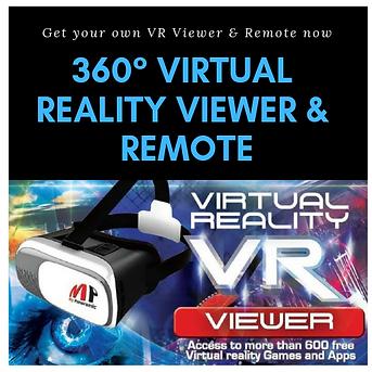 VR Viewer-Remote-Virtual Reality-Google Cardboard