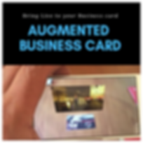 Augmented Reality Business Card sub Page