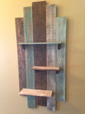 Reclaimed Shelf Display