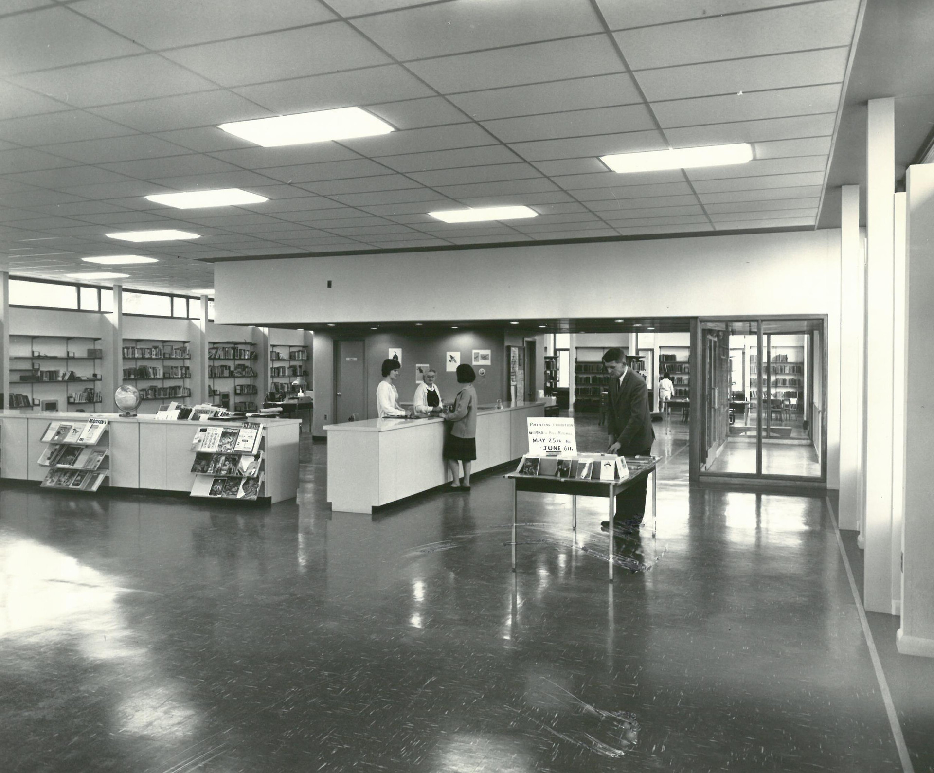 Parry Sound Public Library 1964
