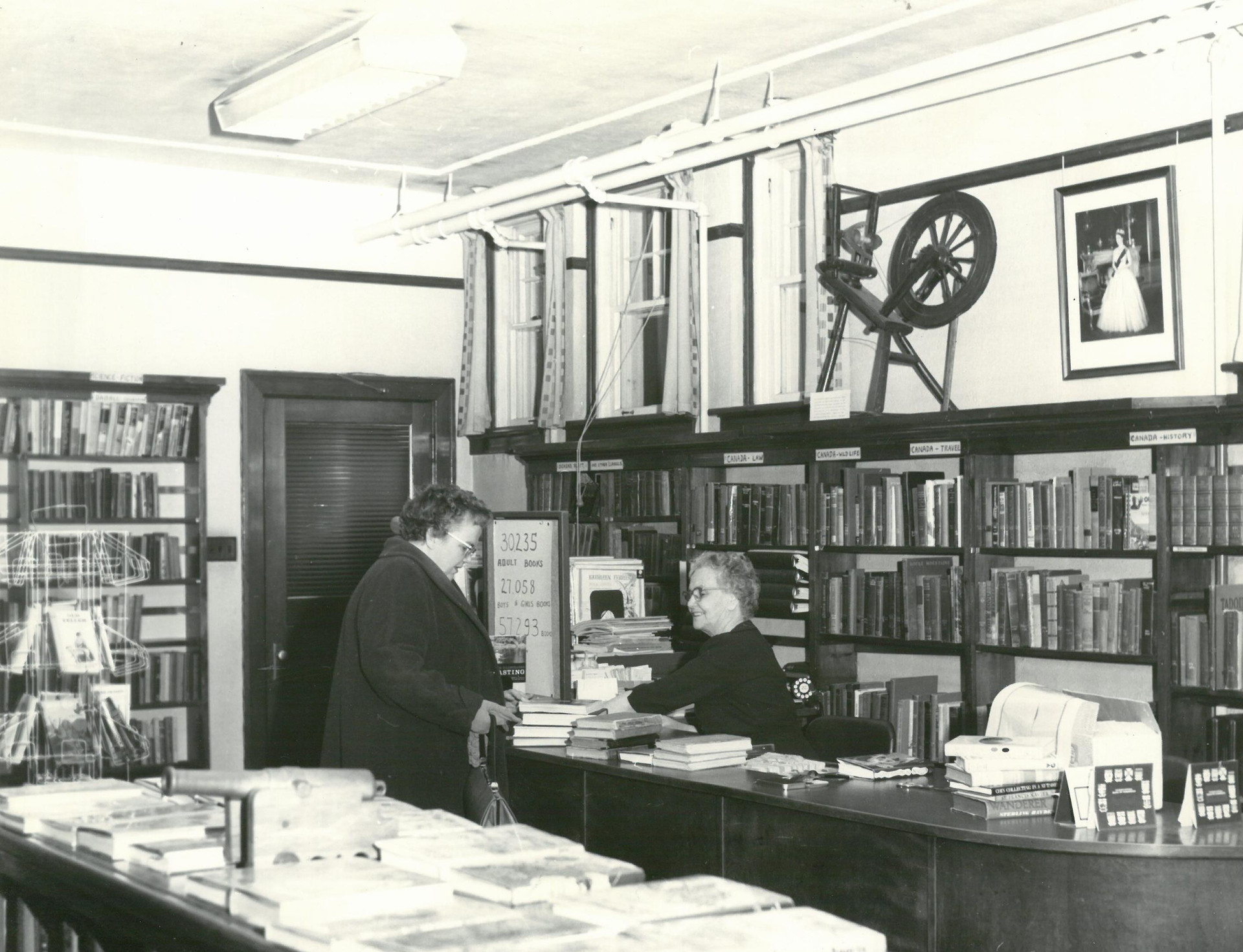 Parry Sound Public Library 1935