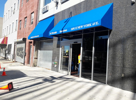 Storefront Awnings & Canopies Fabricator and Installer Covering NYC & New Jersey