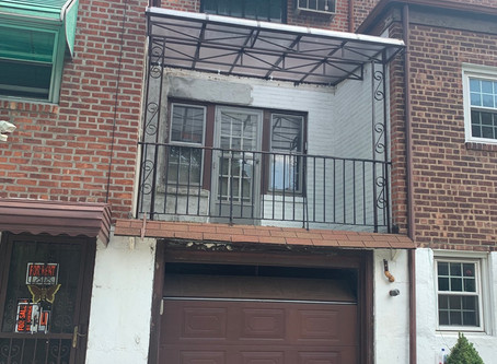 Fiberglass Clear Lexan Awning: Queens, Ny | Linden, NJ | Brooklyn, NY | Long Island, NY
