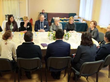 Вице-губернатор А. В. Митянина провела Попечительский совет в ЦССВ 13