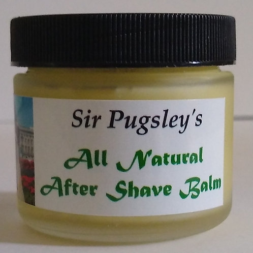 Sir Pugsley's All Natural After Shave Balm  2 oz