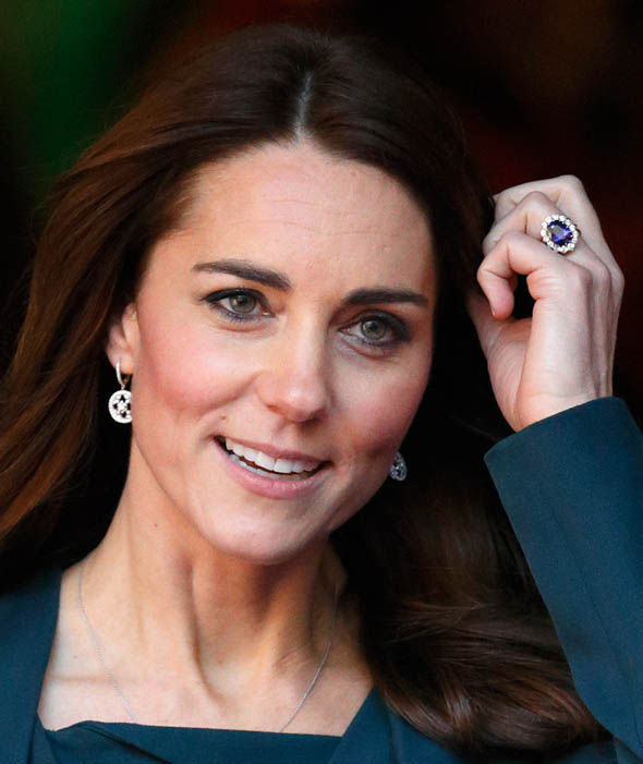 Kate with ring