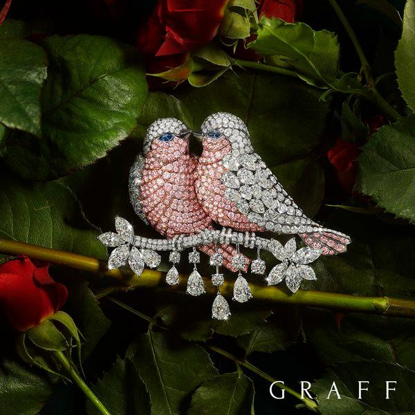 Graff Flight of Fancy Brooch