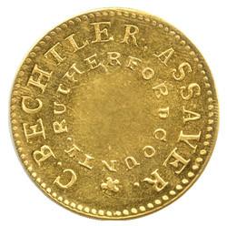 Bechtler Coin UNCtv Gold Fever