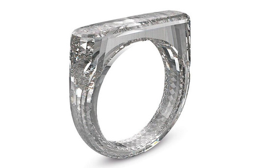 Jony Ive, Designs a Ring Carved From a Single Diamond Crystal