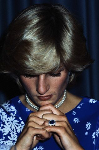 Diana with ring