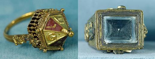 17th Century Talismanic rings