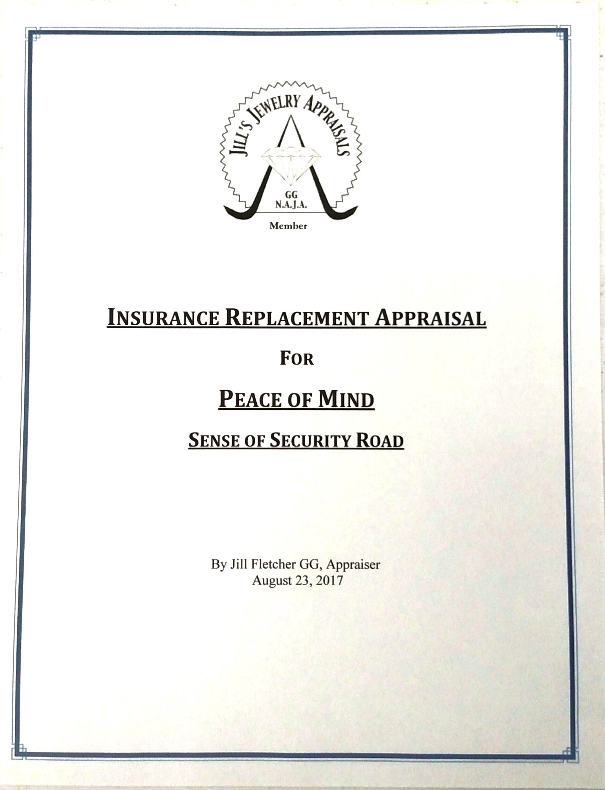 Insurance Replacement Appraisal