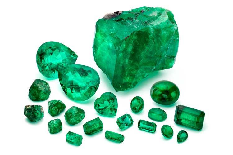 Marcial de Gomar emerald collection