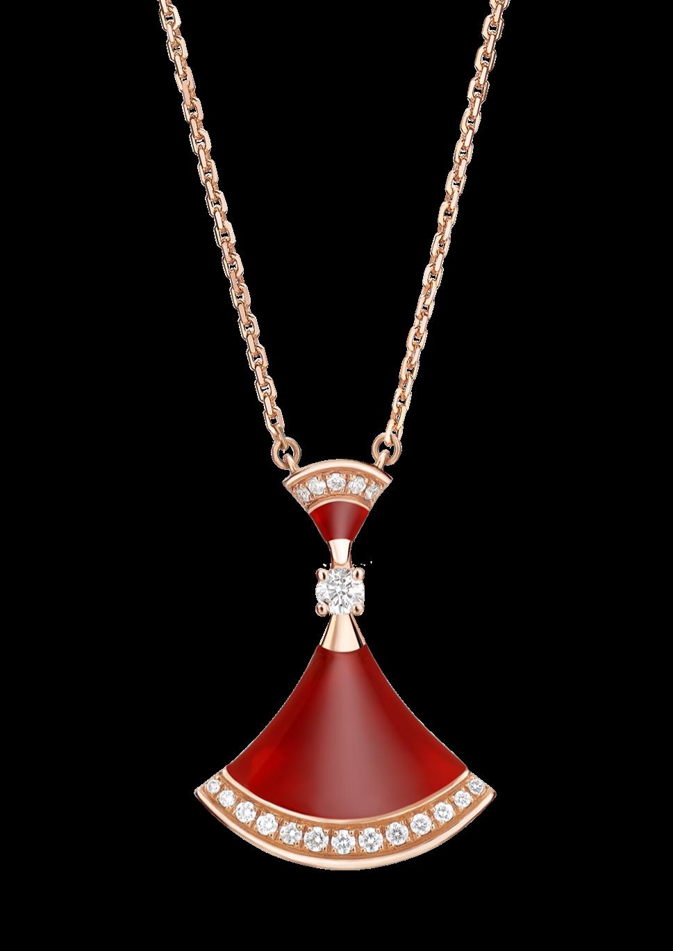 Diva dreams carnelian pendant