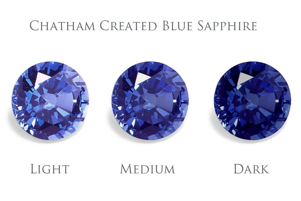 Chatham created sapphires
