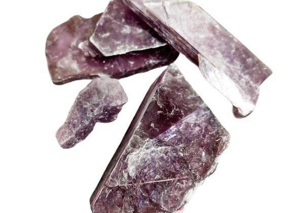 Purple Lepidolite (Raw)