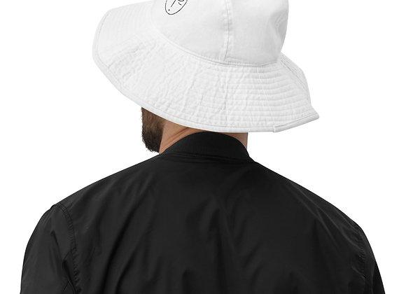Who's Frankie wide brim bucket hat