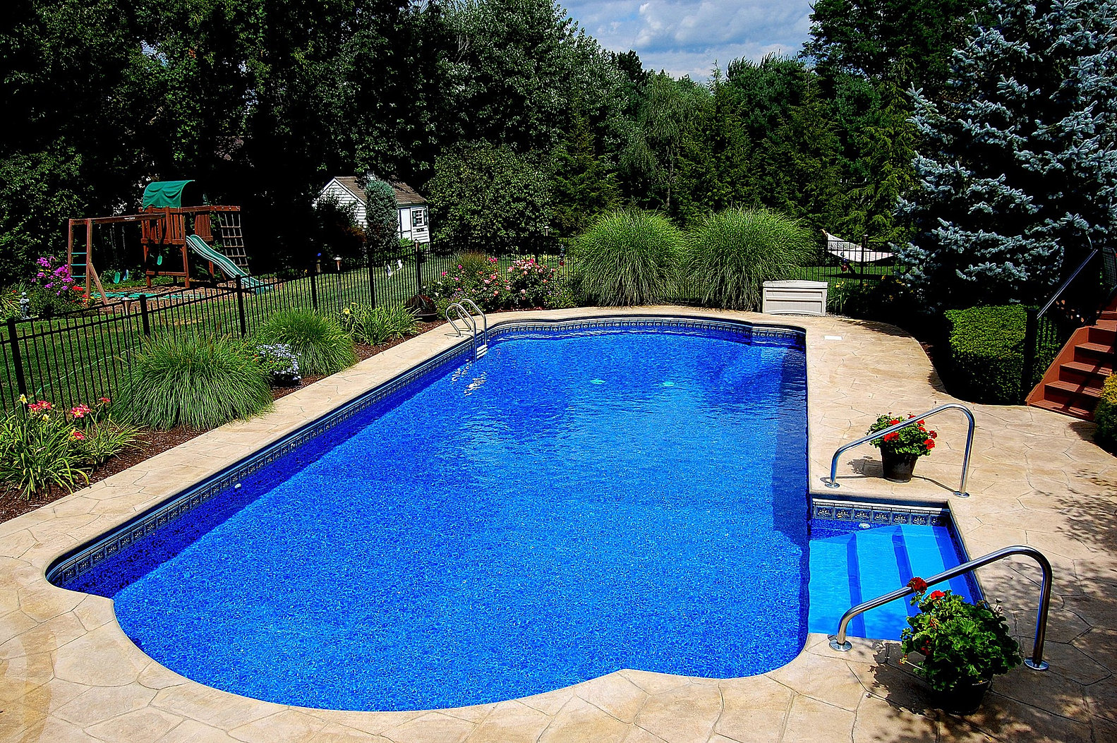 Delgallo country pools inground pools and swimming pools - Cheap inground swimming pool liners ...