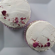 Rose Cardamom Cake