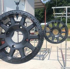 Wet Charchoal RZR Wheels