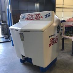 Antique Pepsi Cooler
