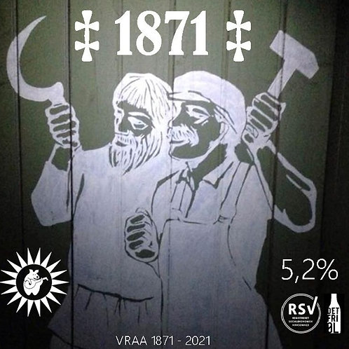 Flaske +*1871* Vrå Jubilæumspilsner