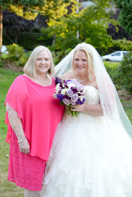 So great to have my Birth Mother, Joye, at my wedding!