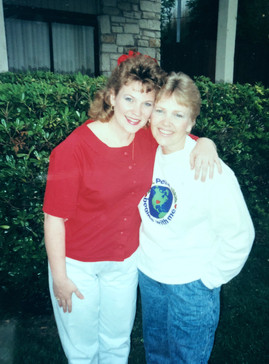Meeting my Birth Mother, Joye, for the first time as an adult.
