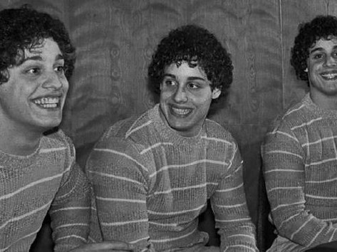 'Three Identical Strangers': The Disturbing True Story of Triplets Separated at Birth Bobby, David, and Eddy's reunion 19 years after being separated by an adoption agency takes a dark twist when secret psychological experiments are revealed in a new Sundance documentary. By: Kevin Fallon