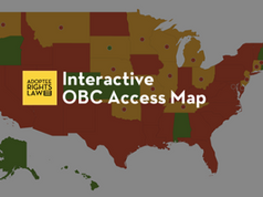 Adoptee Rights Law: Interactive Map