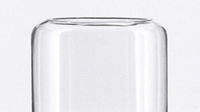 Curve Top Cylinder Vase - Medium