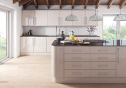 Ultra Gloss Cashmere Kitchen