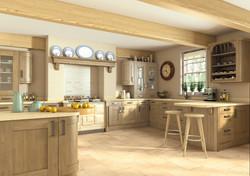Wilton Odessa Oak Kitchen