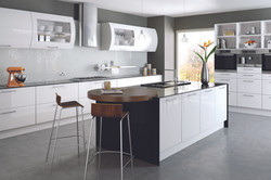 Bella by BA HG White Lincoln Kitchen