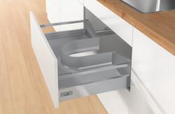 Under sink drawer kit
