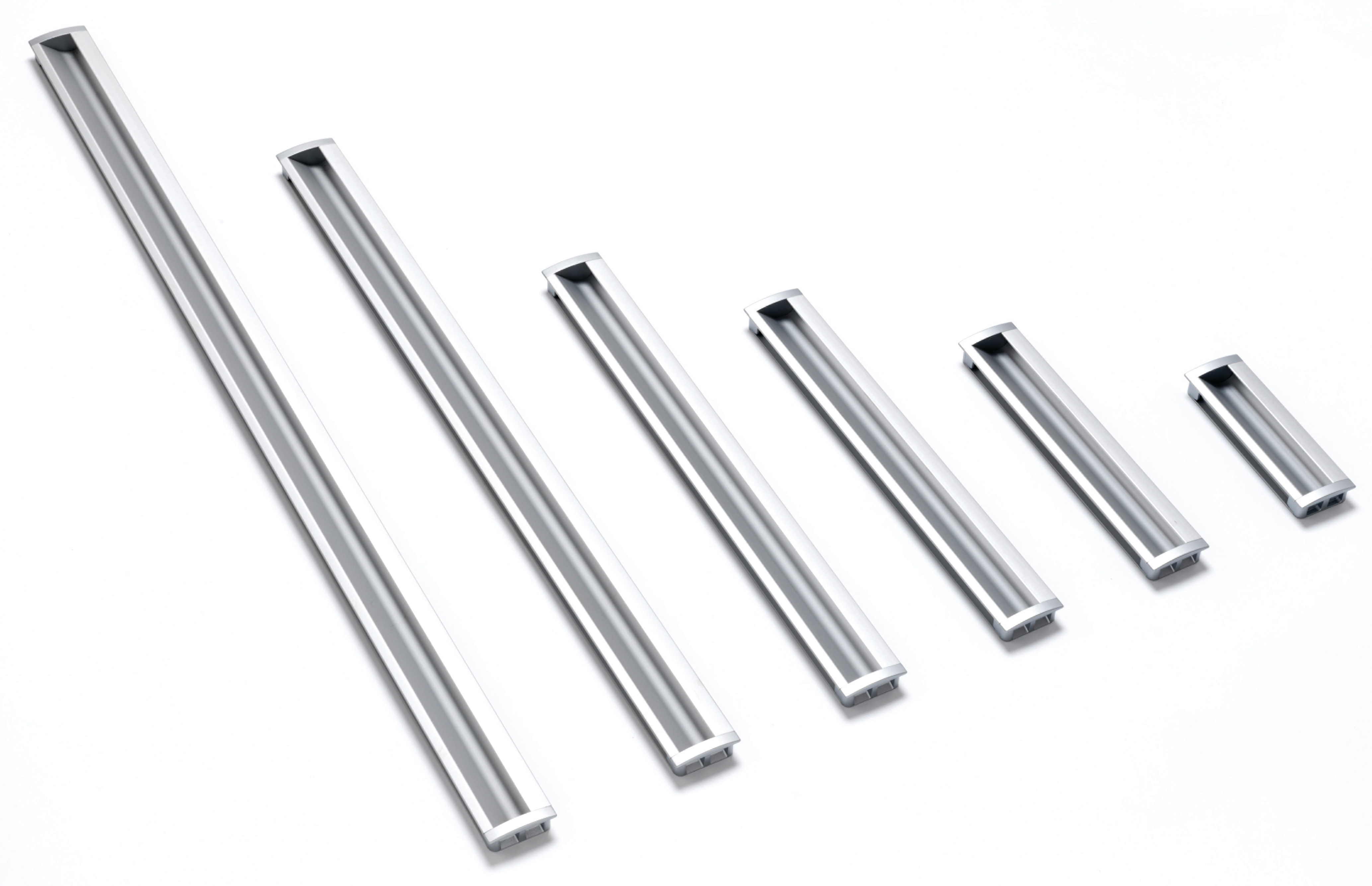 Inset Curved Handles