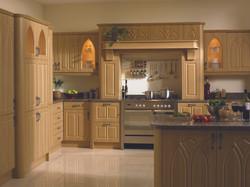 Bella by BA Lissa Oak Gothic Kitchen