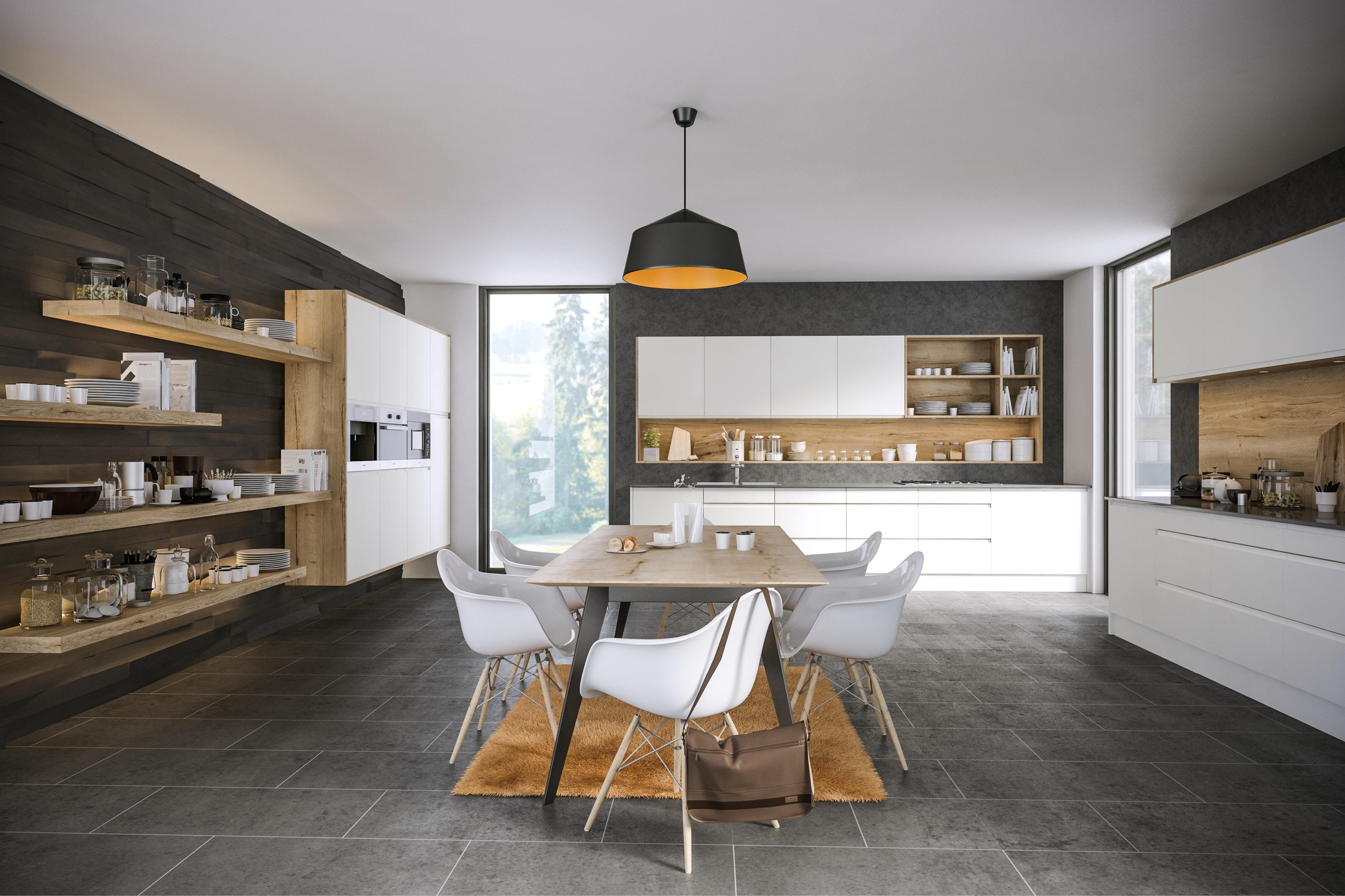 Rothwell Supermatt White Kitchen